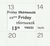 Friday the Thirteenth