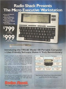 Radio Shack TRS 80 ad